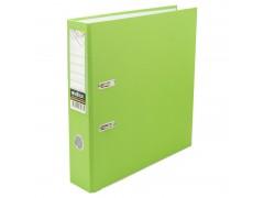 Папка-регистратор 50 мм, PVC, салатовая, с металлической окантовкой, арт. IND 5/30 PVC NEW САЛ