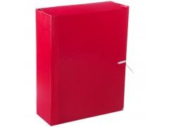 Папка архивная с жесткими клапанами OfficeSpace, покрытие БВ, с 4 завязками, ширина корешка 80мм A-PBV08_360 / 158542