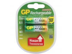 Аккумулятор GP AA (HR06) 2700mAh 2BL GP 270AAHC-2DECRC2