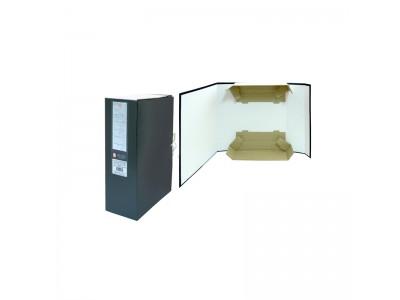 Короб архивный цельнокроенный на 2-х завяз.,разборный, SPONSOR, бумвинил, 100 мм цвет ассорти, арт. SBA-100