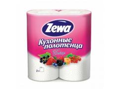 """Полотенца бумажные """"Zewa"""" Декор, 2 рул./уп."""