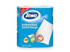 "Полотенца бумажные ""Zewa"", 2 рул/уп."