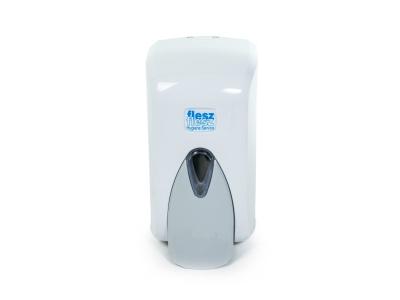 Дозатор для жидкого мыла, 500мл., цв.белый, арт.S5