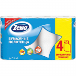 "Полотенца бумажные ""Zewa"", 4 рул./уп."
