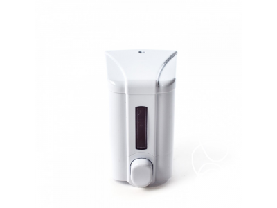 Дозатор для жидкого мыла, 500мл., цв.белый, арт. S2