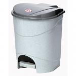 Контейнер для мусора с педалью, 11л., арт. М 2891