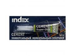 Универсальный моментальный суперклей CEMENT, 3г., блистер, арт. ISG0103