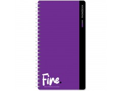 """Телефонная книга А5, 80л., на гребне OfficeSpace """"Моноколор. Fine color"""", с высечкой Тк80г_25349"""
