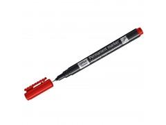 Маркер перманентный OfficeSpace, красный, тонкий металл. наконечник, 0,5мм 270907
