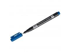 Маркер перманентный OfficeSpace, синий, тонкий металл. наконечник, 0,5мм 270906