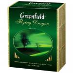 """Чай черный пакетированный """"Greenfield"""" Earl Grey Fantasy с ароматом бергамота, 100 пакетиков"""