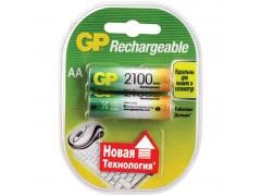 Аккумулятор GP AA (HR06) 2100mAh 2BL GP 210AAHC-2DECRC2