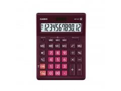 Калькулятор настольный Casio GR-12C-WR бордовый 12-разр., арт. GR-12С-WR-W-EP