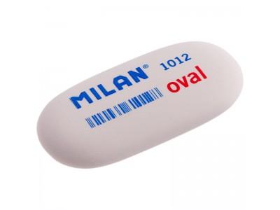 """Ластик Milan """"1012"""", овальный, синтетический каучук, 62*28*12мм, арт. CMM1012"""