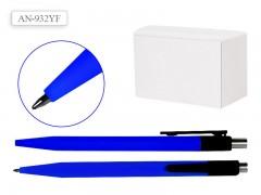 Ручка шариковая, СИНИЙ корпус, цвет чернил синий, арт. AN 932YF