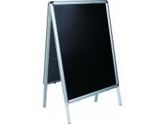 Стойка напольная магнитно-меловая Classic Boards BMF107-VK, черная поверхность, 100х70см