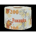 "Бумага туалетная на втулке ""РОМАШКА 200"", вес -150 г., РБ"