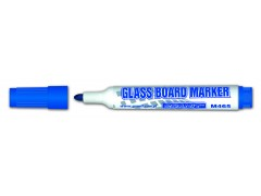 Маркер для стеклянной доски M465, синий, пулевидный, 2-3 мм, GRANIT