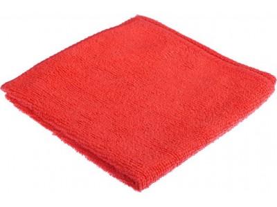 Салфетка из микрофибры 30*30см., 200 г/м2, цв.красный, арт.406-119