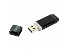 "Память Smart Buy ""Quartz"" 32GB, USB 2.0 Flash Drive, черный SB32GBQZ-K"