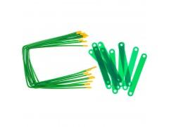 Механизмы для скоросшивания OfficeSpace, металло-пластиковые (сшивка) 10шт, арт. 264837