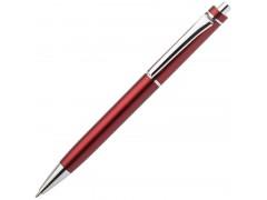 Авторучка шариковая, 1,0 мм, красный корпус, хромированные детали, синие чернила, арт. IMWT1311/RD