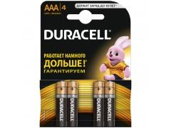 Батарейка Duracell Basic AAA (LR03) 4BL