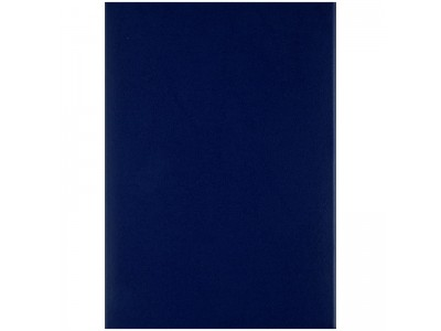 Папка адресная OfficeSpace, (без надписей), А4, бумвинил, синяя, инд. упаковка 277211