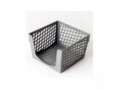 Подставка для бумажного блока, разм. 9х9х7 см, арт. SPB-997, цвет серый