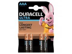 Батарейка Duracell UltraPower AAA (LR03) алкалиновая, 4BL