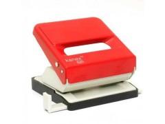 Дырокол 520 KANEX (ассорти) на 25 листов, цвет красный