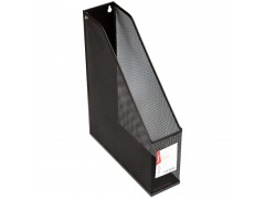 """Лоток для бумаг вертикальный Berlingo """"Steel&Style"""", металл, цвет черный"""