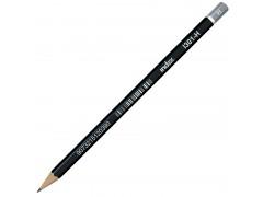 Карандаш чернографитный, без ластика, тв. H, арт. I301-H
