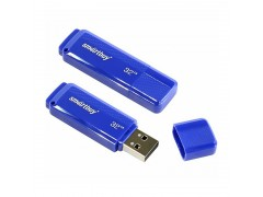 "Память Smart Buy ""Dock"" 32GB, USB 2.0 Flash Drive, синий SB32GBDK-B"