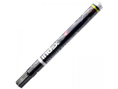 Маркер лаковый, тонкий алюминиевый корпус, цвет - черный., арт. IPM101/BK