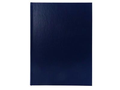 Книга учета Index, БУМВИНИЛ, клетка, 96 л., ф.А4, синий, арт. IL96/1/9/BU