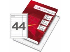 Этикетка самокл. А4/44, 100л., р.48,5*25,4мм. Labelmedia