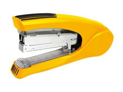 Степлер KANEX энергосберегающий LF-210FC на 30 (24/6,26/6) - 40 (24/8,26/8) листов, плоское сшивание, ассорти