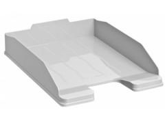 Лоток для бумаг ЭКСПЕРТ, горизонтальный, серый