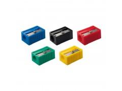 Точилка пластиковая Milan, 1 отверстие, ассорти, арт. 20120260