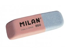 """Ластик Milan """"860"""", скошенный, комбинированный, натуральный каучук, 47*14*7мм, арт. CCM860RA"""