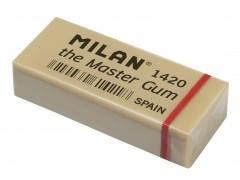 """Ластик для художественных работ Milan """"Master Gum 1420"""", прямоугольный, синтетический каучук, 55*23*13мм, арт. CMM1420-05"""