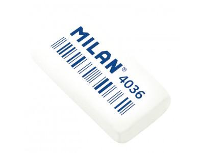 """Ластик Milan """"4036"""", прямоугольный, синтетический каучук, 39*20*8мм, арт. CNM4036"""