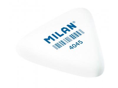 """Ластик Milan """"4045"""", треугольный, синтетический каучук, 39*34*9мм, арт. PMM4045"""