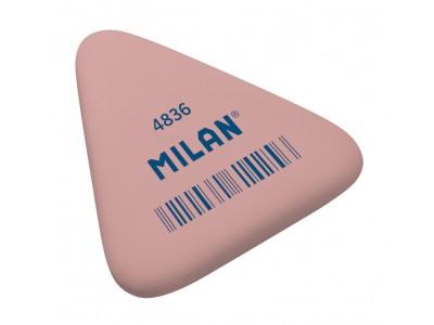 """Ластик Milan """"4836"""", треугольный, синтетический каучук, 50*44*7мм, арт. PNM4836RCF"""