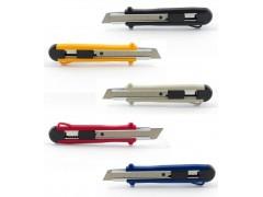 Нож канцелярский большой, 18 мм, KANEX MP-18, метал.направляющие, лезвие из высокоуглеродистой стали