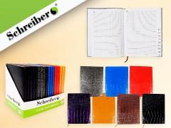 Записная книжка алфавитная, 160 стр, 13x18 cм, 7 цветов в ассортименте NEW, арт. S 3701