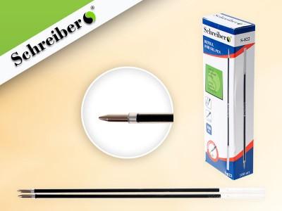 Стержни шариковые с чернилами на масляной основе, СИНИЕ, длина 144 мм, наконечник 0,5 мм (для ручки tz-1188) АНАЛОГ TZ 5064, арт. S 822