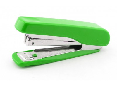 Степлер KANEX HD-10NR (HS-10H) на 20 л., скоба №10, цвет зеленый