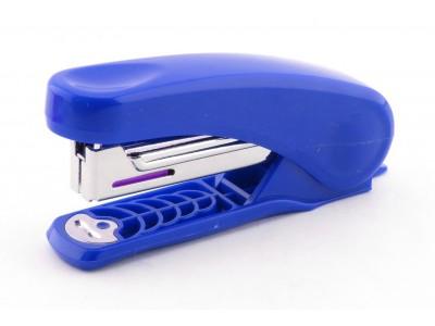 Степлер KANEX NR-10 на 15 л., скоба №10, цвет синий